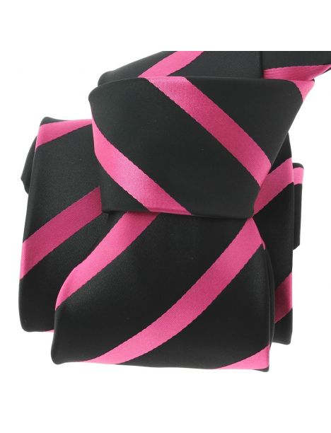 Cravate CLJ, Urbane, Fuchsia Clj Charles Le Jeune Cravates