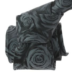 Cravate CLJ, Calvi, Roses grises