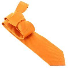 Cravate CLJ, Naveline, Orange vif