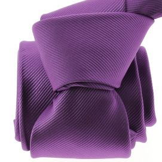 Cravate CLJ, Oeillet Mauve Clj Charles Le Jeune Cravates
