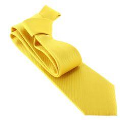 Cravate CLJ, Jaune poussin