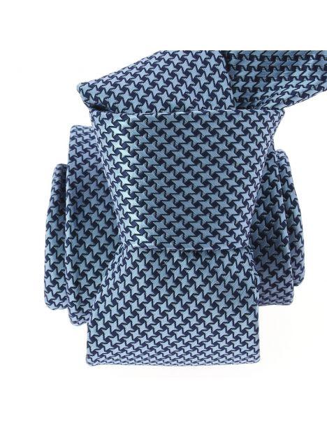 Cravate CLJ, Star bleu Clj Charles Le Jeune Cravates