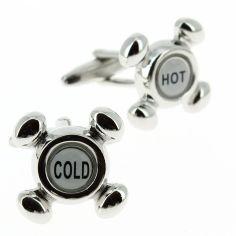 Boutons de manchette, Robinet Hot et Cold