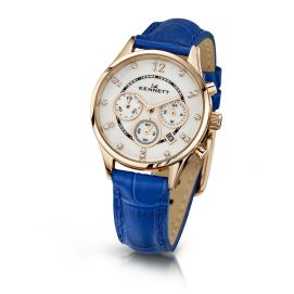 Montre Kennett Plaqué Or rose, Lady Bleu