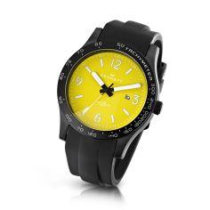 Montre Kennett Altitude Illumin8 jaune et blanc