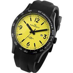 Montre Kennett Altitude noir et jaune