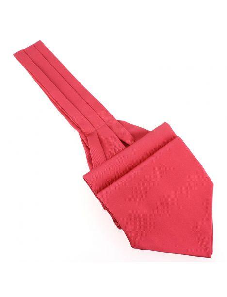 Cravate Ascot en soie, Rose Ribes, Fait à la main Tony & Paul Cravates