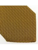 Cravate grenadine de soie, marron camel, Tony & Paul Tony & Paul Cravates
