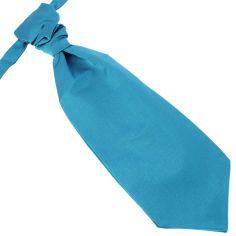 Lavallière nouée en soie, cobalto, Faite à la main Tony & Paul Cravates