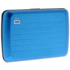 Porte carte Ogon V2 Blue métal - Bleu