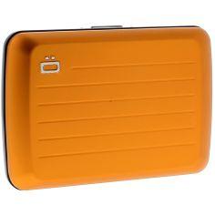Porte carte Ogon V2 Orange - Fermoir métal Ogon Designs Petite Maroquinerie
