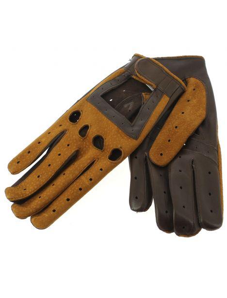 Gant cuir carpincho Luxe, agneau-carpincho, fait main en Italie Guanti di Arcucci Gants Homme