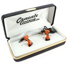 Bouton de Manchette, Visseuse-dévisseuse Bricoleur orange