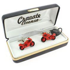 Bouton de Manchette, Moto rouge