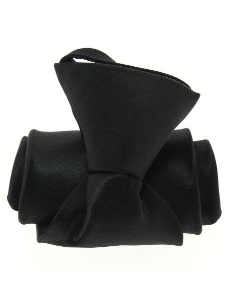Cravate enfant, noir Pomme Carré Cravates