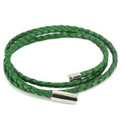 Bracelet tressé Homme Monart, vert