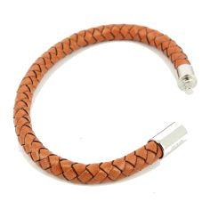 Bracelet Milano Homme Monart, Orange