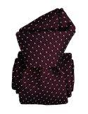 Cravate grenadine de soie, Segni & Disegni, Paris XVI Bordeaux Segni et Disegni Cravates