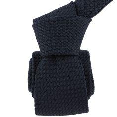 Cravate grenadine de soie, bleu marine foncé, Tony & Paul Tony & Paul Cravates