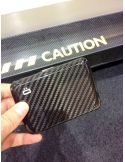 Porte carte Ogon V2 Carbone - Fermoir métal Ogon Designs Petite Maroquinerie