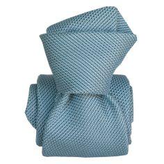 Cravate grenadine de soie, Segni & Disegni, Lucia Azur