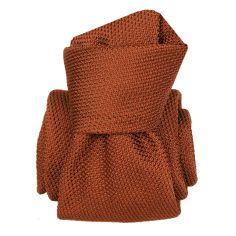 Cravate grenadine de soie, Segni & Disegni, Lucia Ruggine