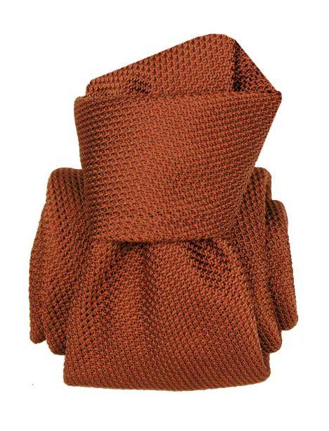 Cravate grenadine de soie, Segni & Disegni, Lucia Ruggine Segni et Disegni Cravates