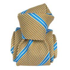 Cravate grenadine de soie, Segni & Disegni, Villa Senape
