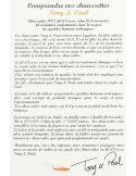 Chaussettes pur fil d'Ecosse. Bleu Bonaparte. Tony & Paul Tony & Paul Chaussettes