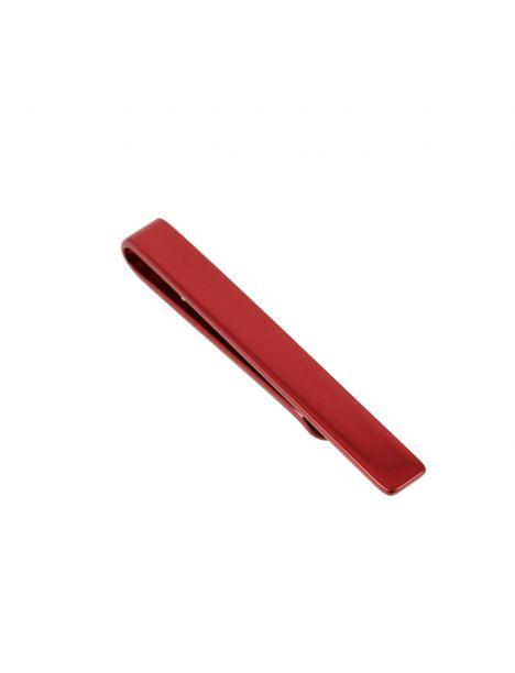 Pince à cravate pour cravate Slim rouge