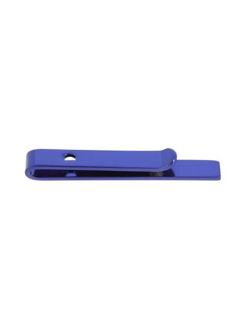 Pince à cravate pour cravate Slim bleu electrique