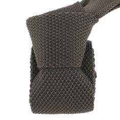 Cravate Tricot. Marron limagne Clj Charles Le Jeune Cravates
