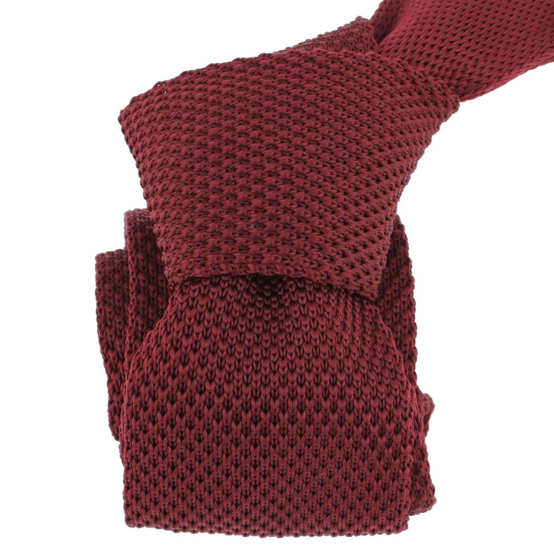 7964114500ff3 Cravate Tricot. Bordeaux Clj Charles Le Jeune Cravates. Loading zoom