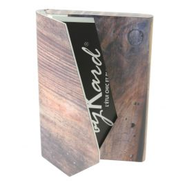 Porte Carte plastique Wood, Sublimation.