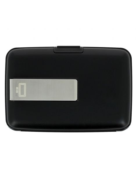 Porte carte Money Clip Ogon Design, black, noir Ogon Designs Petite Maroquinerie