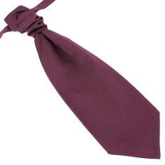 Lavallière nouée en soie, Melanconia, Faite à la main Tony & Paul Cravates