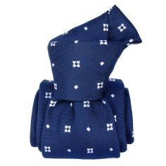 Cravate Segni Disegni LUXE, Faite main, Bolatte , bleu