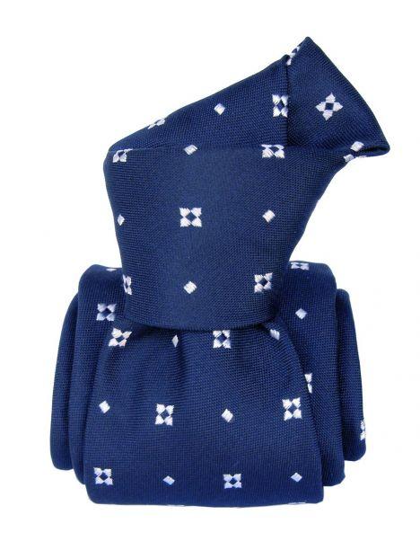 Cravate Segni Disegni LUXE, Faite main, Bolatte , bleu Segni et Disegni Cravates