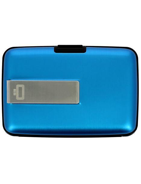 Porte carte Money Clip Ogon Design, bleu Ogon Designs Petite Maroquinerie