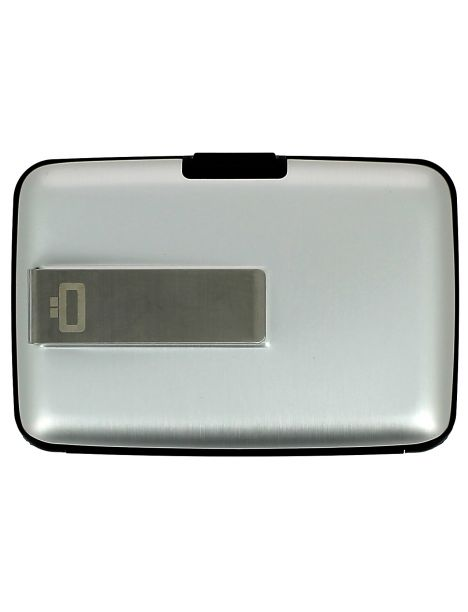 Porte carte Money Clip Ogon Design, Silver Ogon Designs Petite Maroquinerie