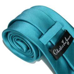 Cravate CLJ, Calvi, Turquoise