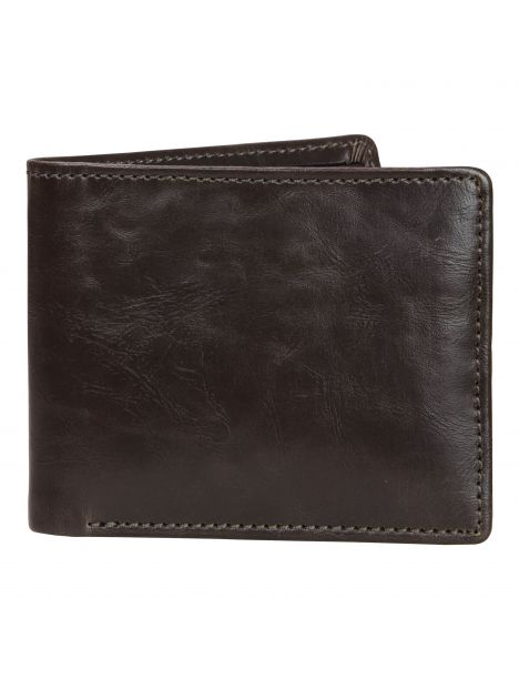 Portefeuille en cuir Jacob Jones, marron Jacob Jones Portefeuille Cuir