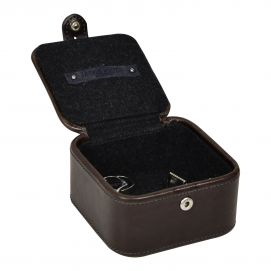 Stud Box, Jacob Jones, rangement pour boutons de manchette. Marron Jacob Jones Ecrins