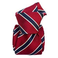 Cravate Classique Segni et Disegni- Savone Marron