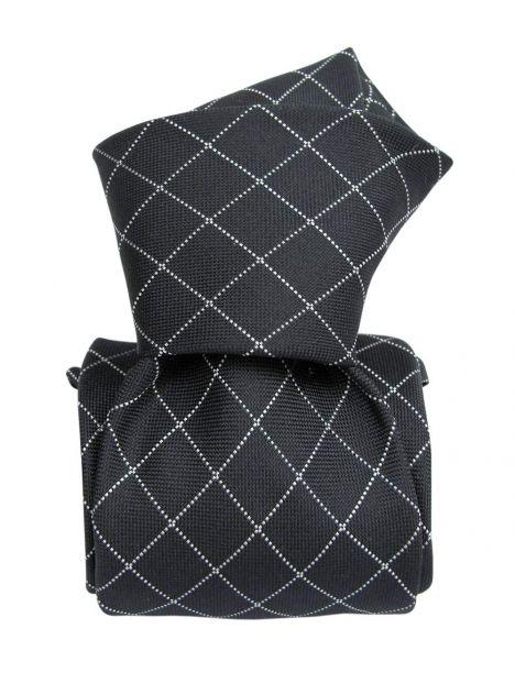 Cravate soie Classique Segni Disegni, Verone grise Segni et Disegni Cravates