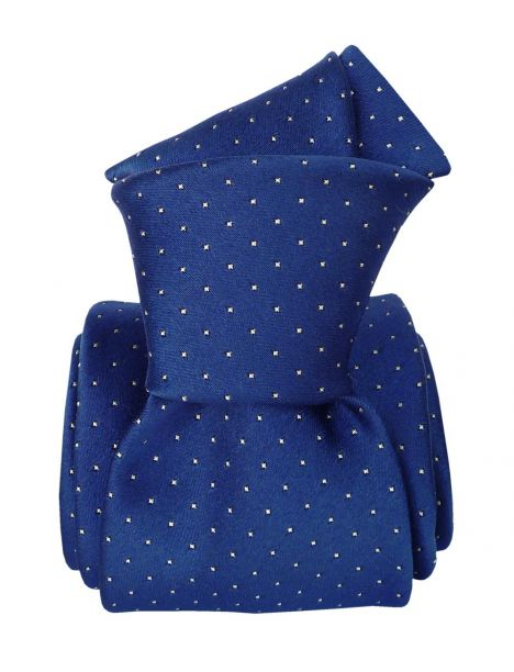 Cravate soie Classique Segni Disegni, Palerme bleu Segni et Disegni Cravates