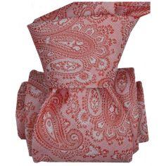 Cravate LUXE Segni Disegni 100% Faite main: Pise, Rose