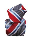 Cravate Segni Disegni LUXE, Faite main, Castellazzo, Rouge Segni et Disegni Cravates