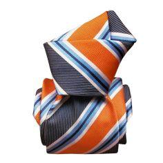 Cravate Segni Disegni LUXE, Faite main, Castellazzo, rouge