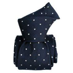 Cravate Segni Disegni LUXE, Faite main, Diano-marina bleu